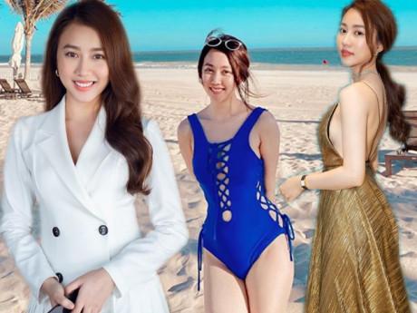 Bạn gái Cầu thủ Tiến Linh xinh đẹp ngọt ngào lại có làn da trắng như tuyết
